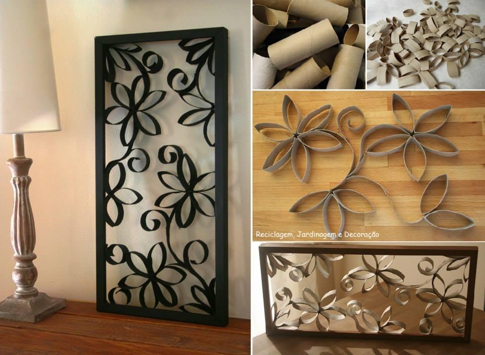 Como fazer decoração com material reciclável 10 dicas