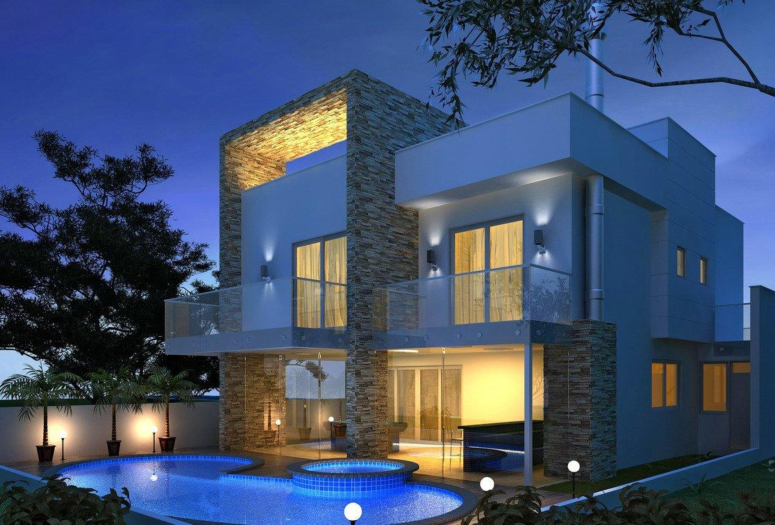 10 fachadas para casas modernas