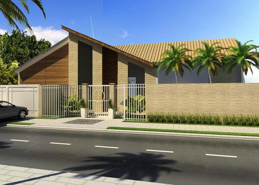 10 fachadas para casas modernas for Modelos de fachadas modernas para casas