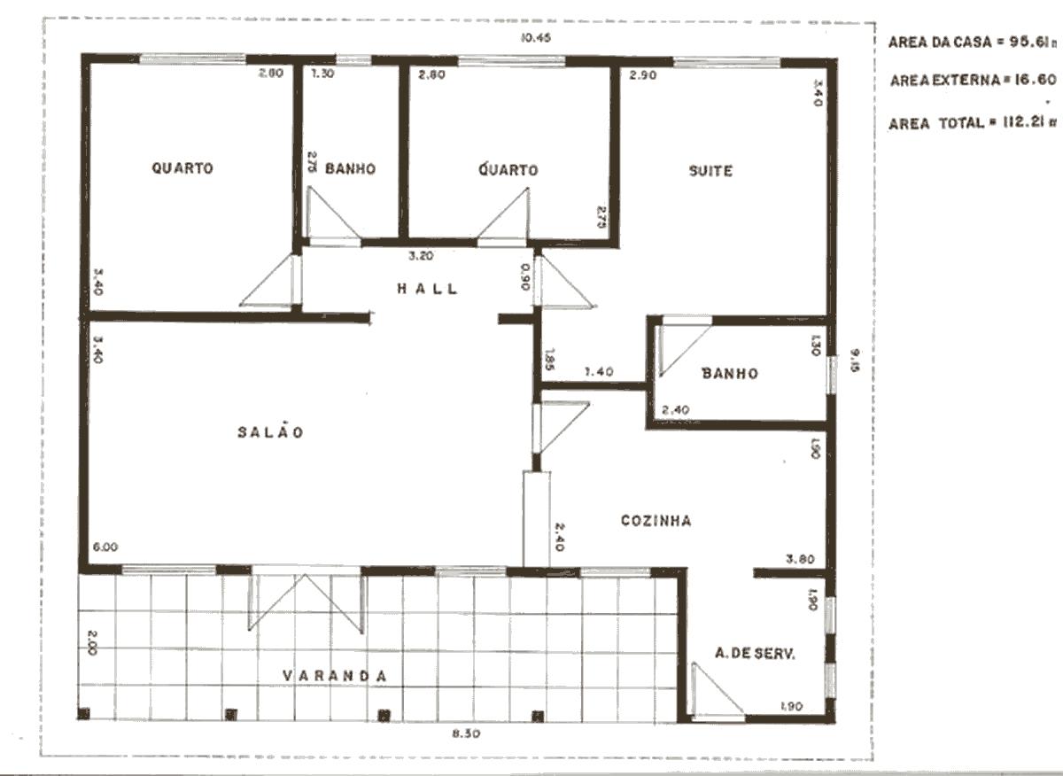 10 modelos de plantas de casa Grátis #393022 1200 876