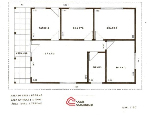 10 modelos de plantas de casa gr tis for Modelos planos de casas para construir