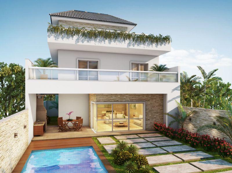 10 modelos de casas tr plex for Modelos de casas grandes
