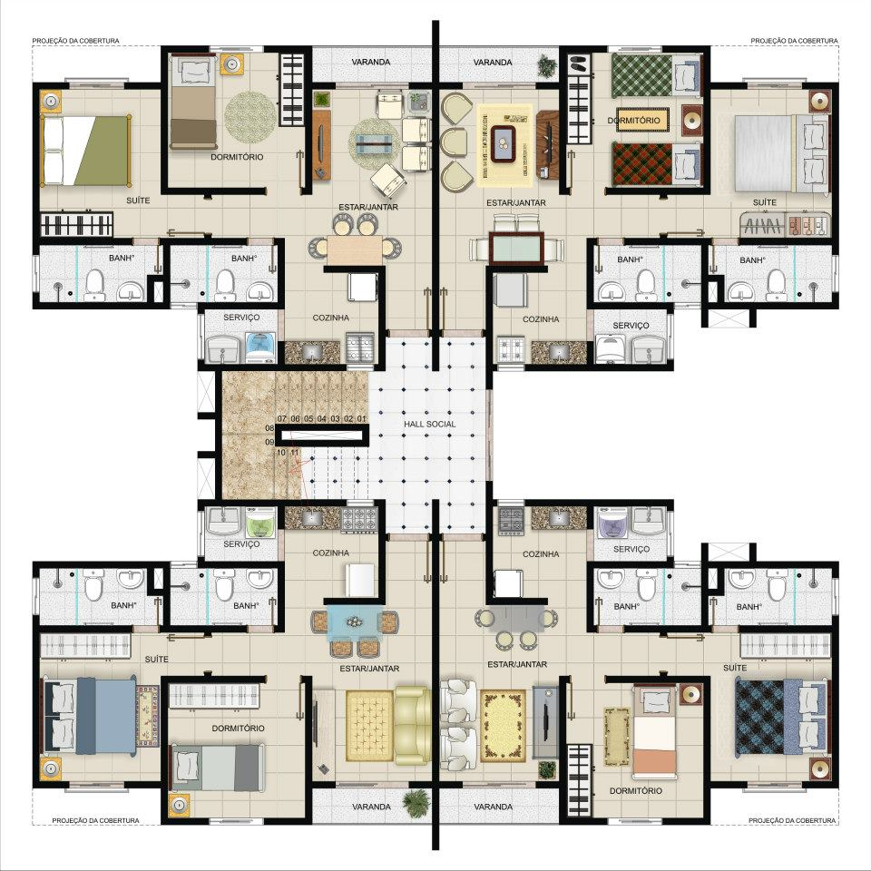 Super 10 plantas para casas grandes ZS78