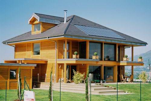 Modelos de casas ecol gicas for Casa modelo americano
