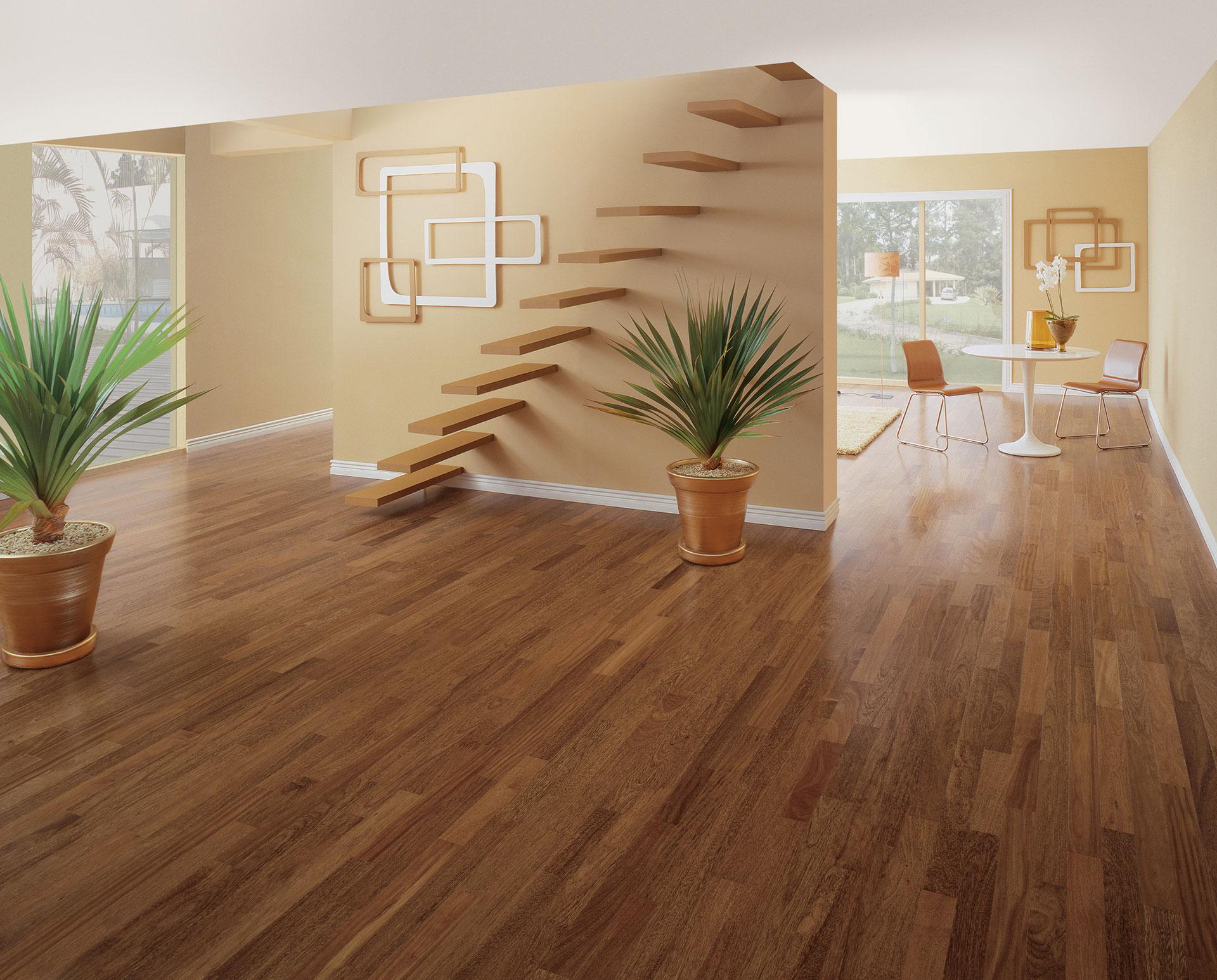 Decora o com pisos de madeira 30 fotos for Pisos porcelanatos fotos