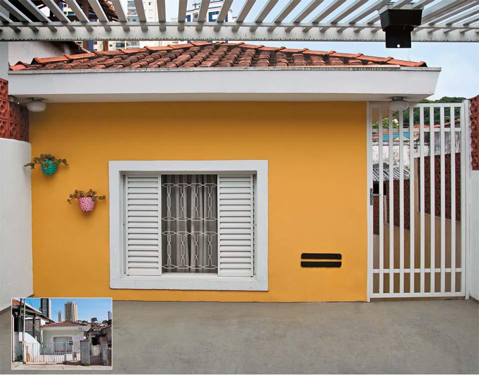 10 fachadas para casas simples - Pintado de fachadas ...