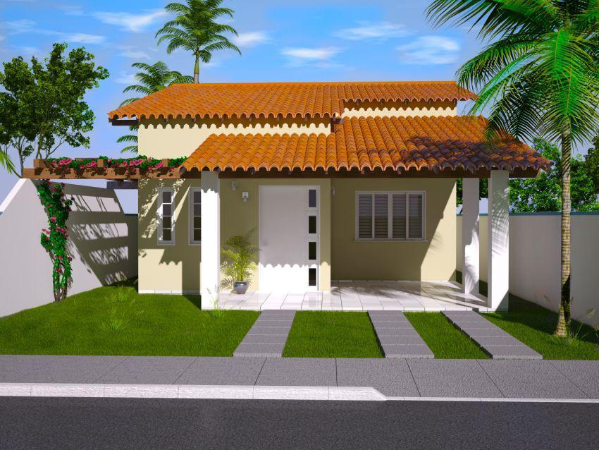 30 modelos incr veis de fachadas de casas pequenas e modernas - Fotos de casas pequenas ...