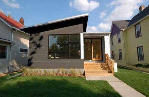 30 fotos de fachadas de casa simples fotos e dicas for Fachadas modernas para casas pequenas de una planta