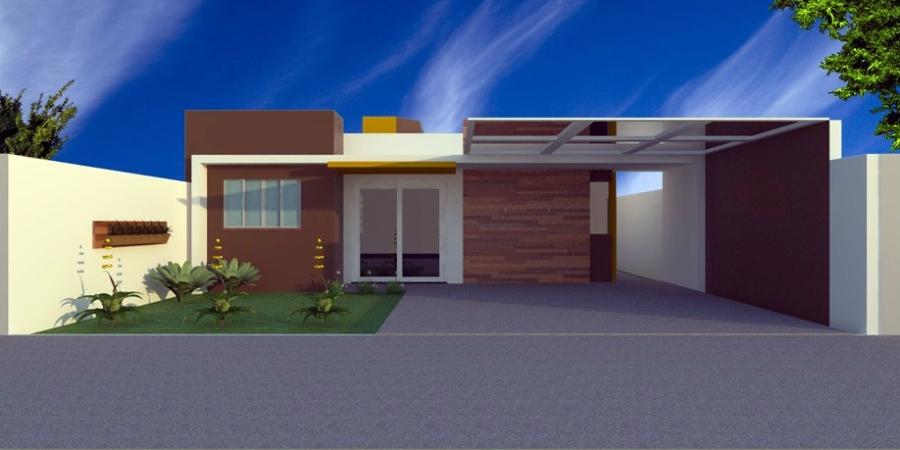 tipos de fachadas para casa