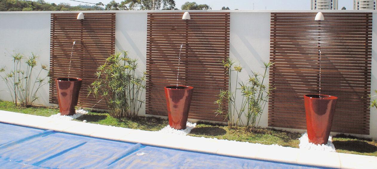 Como decorar as paredes e muros do seu jardim | Jardim das