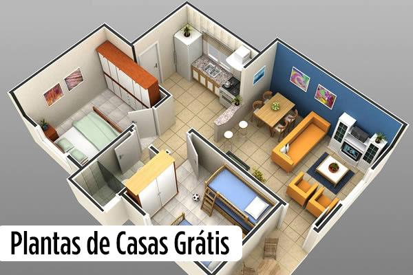 10 modelos de plantas de casas grtis - Planos De Casas