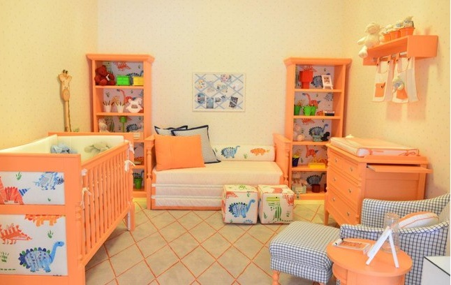 Quarto infantil com decoração diferente