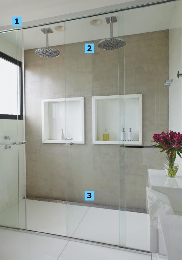 Modelos de Lavabos Pequenos para Casa -> Decoracao Banheiro Chuveiro