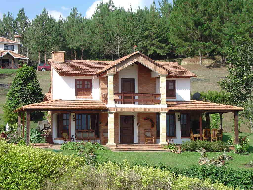 Fachadas De Casas De Campo Modelos Fotos