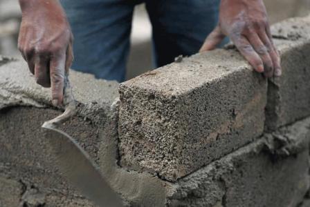 Cimento para obra
