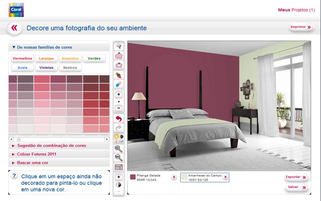 Simulador de ambientes para decorar - Simulador pintura casa ...