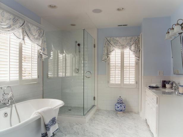Cortinas para janelas de banheiro