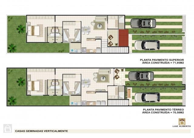 Duplex com garagem
