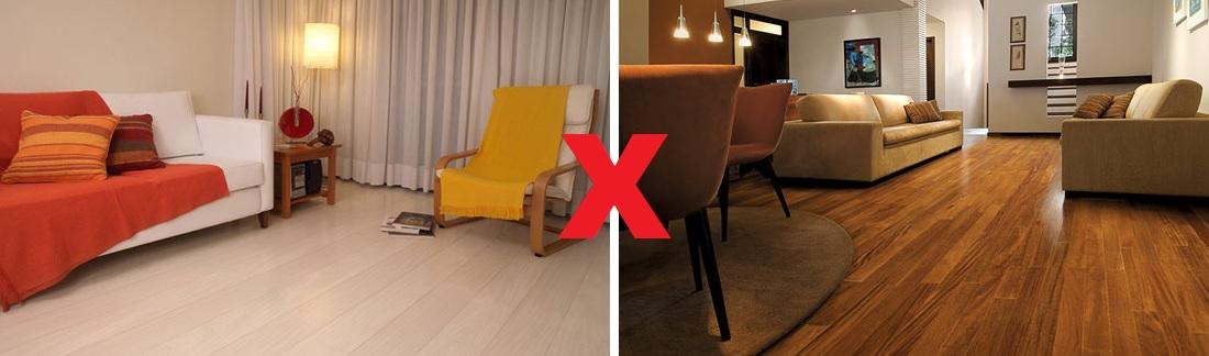 Escolhar piso laminado ou vinilico