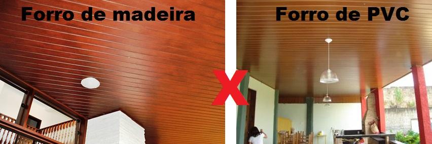 Forro de madeira ou PVC? 10 dicas