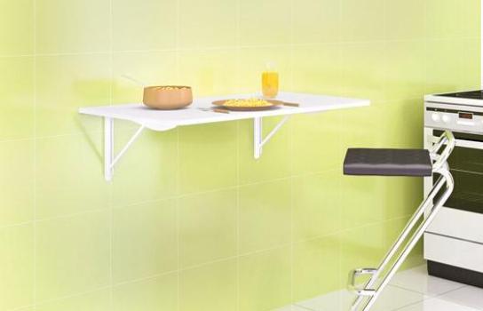 5 Modelos de mesa dobrável de parede