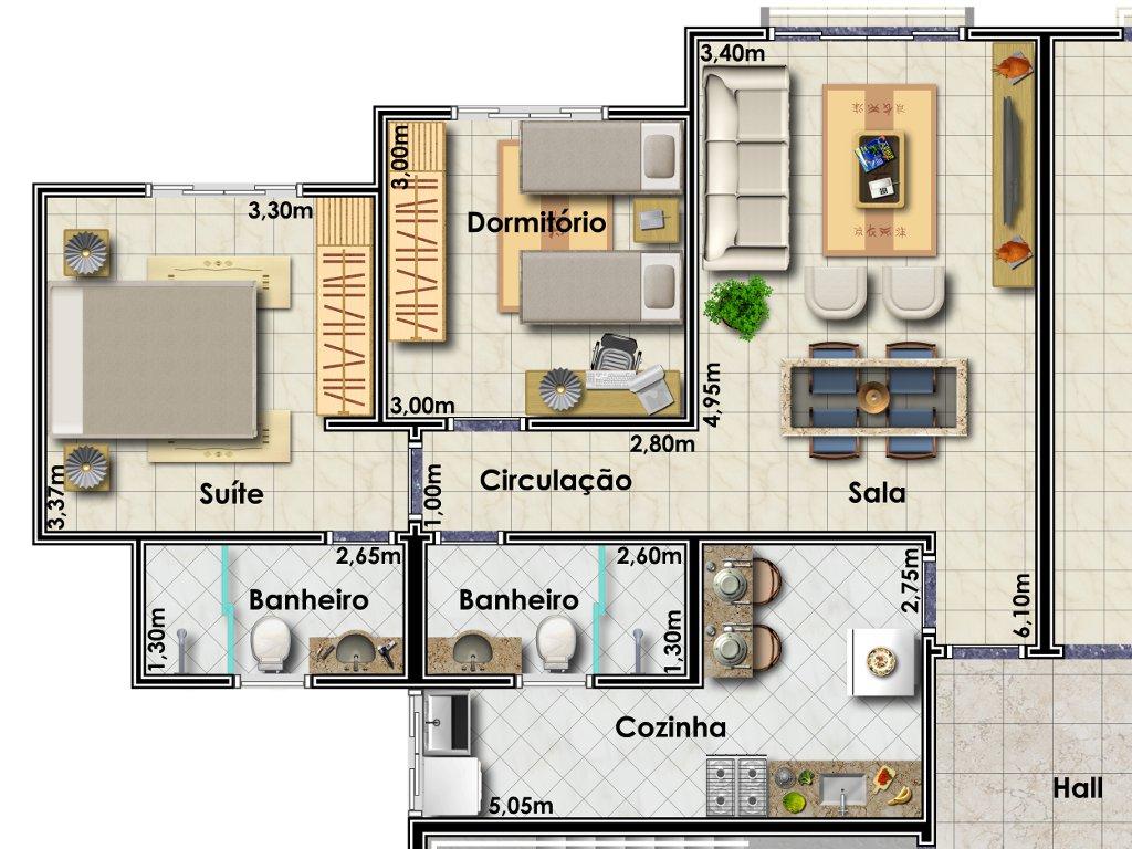 Imagens de casa moderna em forma de planta