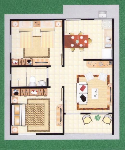 Planta baixa de casas pequenas modernas modelos incr veis for Modelo de casa pequena para construir