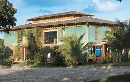 Imagens de fachadas de casas de praia