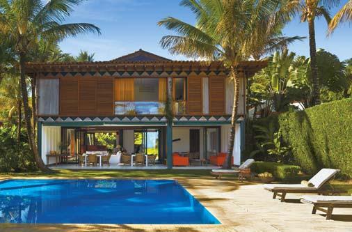 Casa de praia fachadas