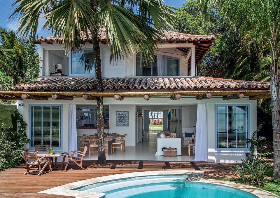 Fotos de fachadas de casa de praia