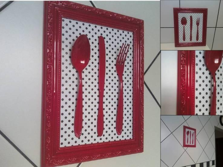 Decora o de cozinha com artesanato dicas for Objetos baratos para decorar