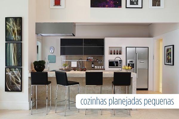 Decoração de Cozinhas Planejadas Pequenas