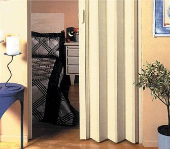 porta sanfonada modelo BCF Puntinato