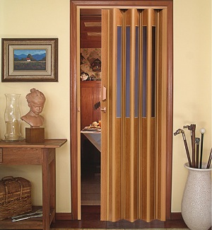 porta sanfonada modelo vitral