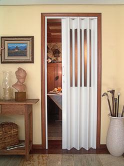 porta sanfonada vitral BCF