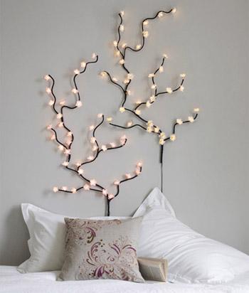Árvore de pisca-pisca