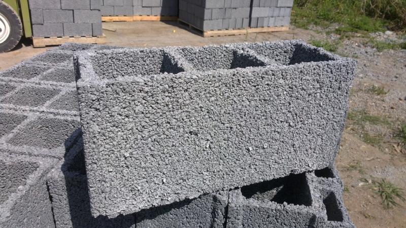 Bloco de concreto para construção