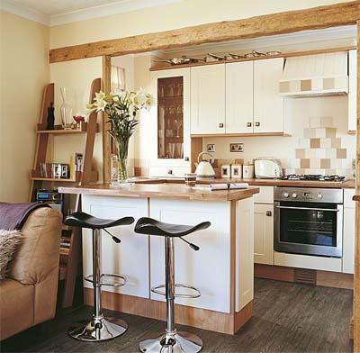 Cozinha Neutra pequena