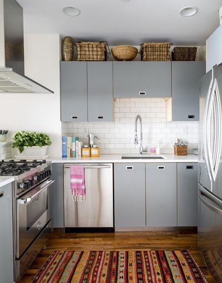 15 cozinhas pequenas para apartamento - Como distribuir una cocina pequena ...