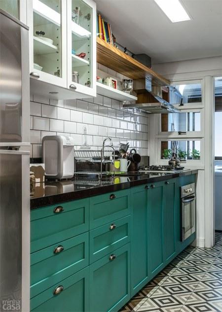 Cozinhas pequenas para apartamento