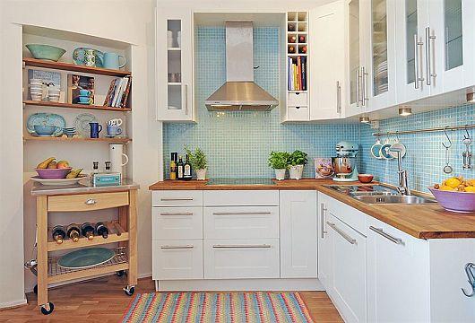 Cozinha decorada sobrado
