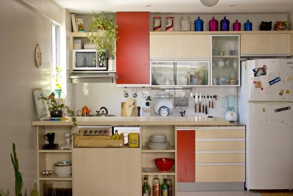 Cozinha empilhada