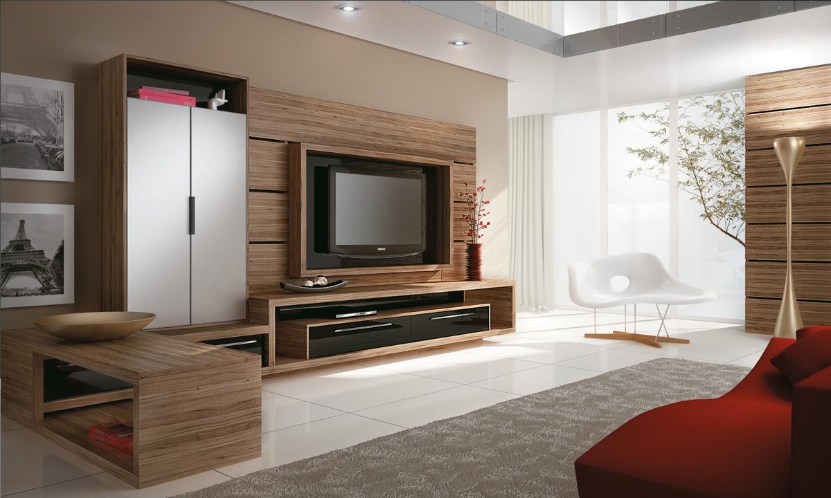 30 tipos de moveis sob medida para sala - Armarios para sala de estar ...