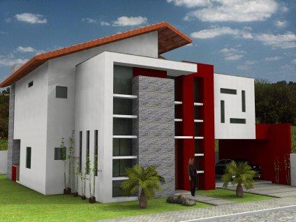 10 modelos de fachadas para 2018 for Cores modernas para fachadas de casas 2016
