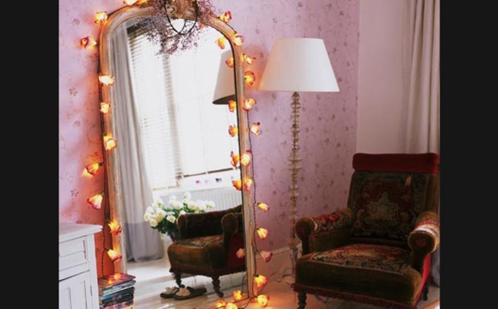Iluminacao Com Pisca Pisca No Quarto ~ As estantes tamb?m podem ser decoradas com o pisca pisca, basta voc?
