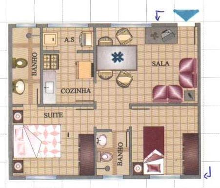 5 modelos de planta baixa de casas pequenas for Planos casas pequenas