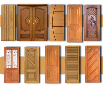 Modelos de portas de madeira para casa