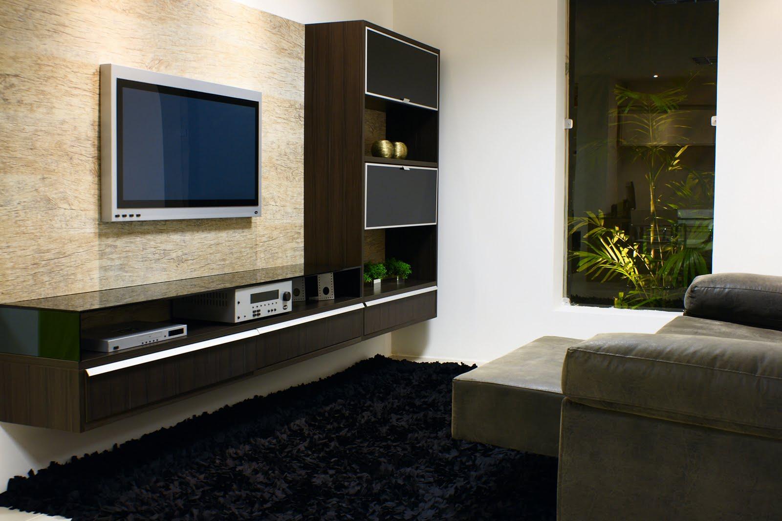 Sala planejada para apartamento