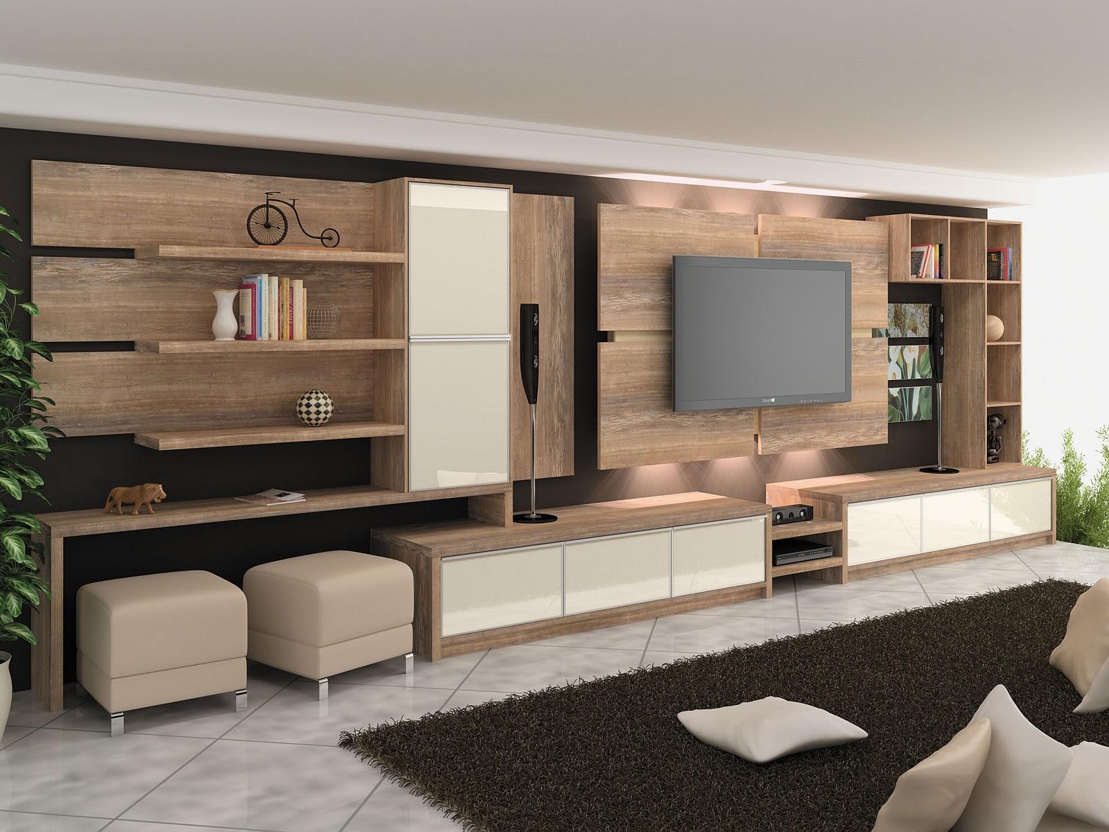 30 tipos de moveis sob medida para sala for Pintado de salas pequenas