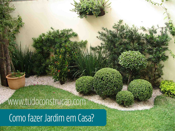 como fazer jardim em casa